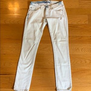 IRO jeans - white with blue wash - size 25